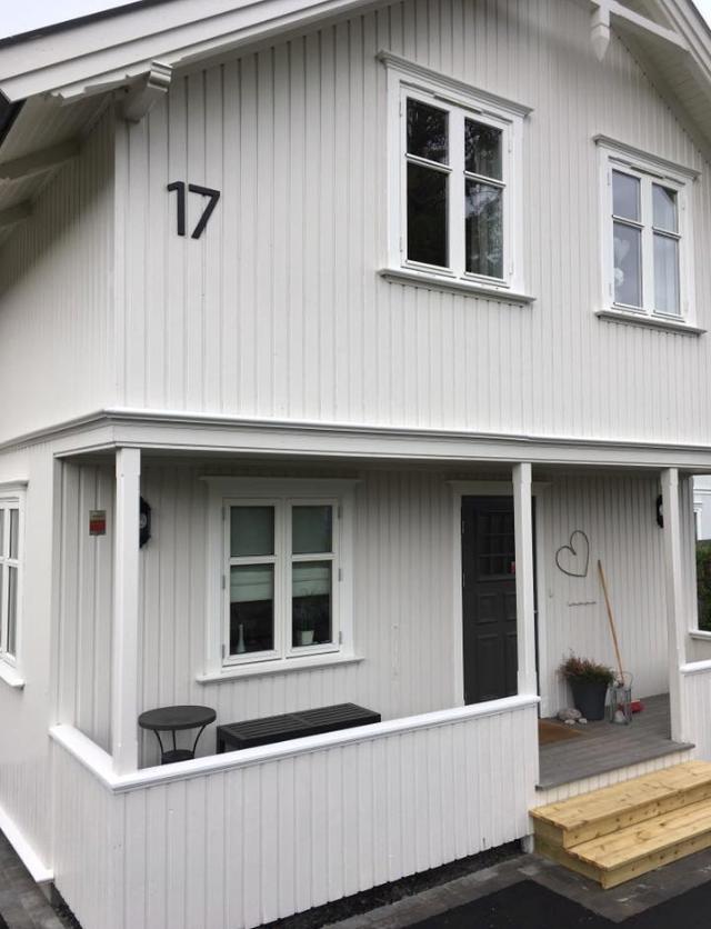 Fantastisk Tall og bokstaver til hus - indigo by aok TB-19